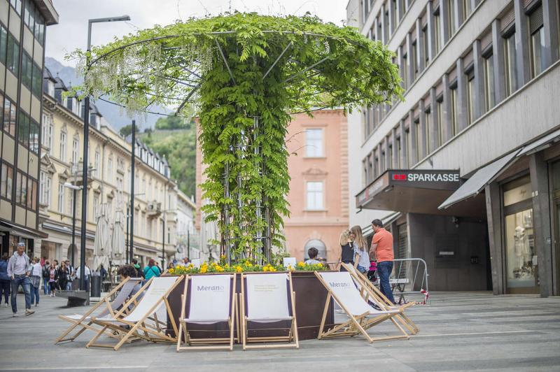 The Merano Flower Festival in the Merano Spring
